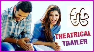 A Aa.. New Theatrical Trailer    Nithin   Samantha   Trivikram