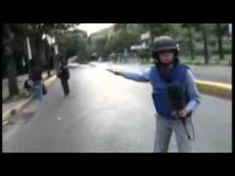 Violence erupts at Venezuela protests - 08 Nov 07