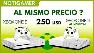 SIN LECTORA AL MISMO PRECIO !!! ??  Xbox One All-Digital Edition | PROS y CONTRAS  - Notigamer