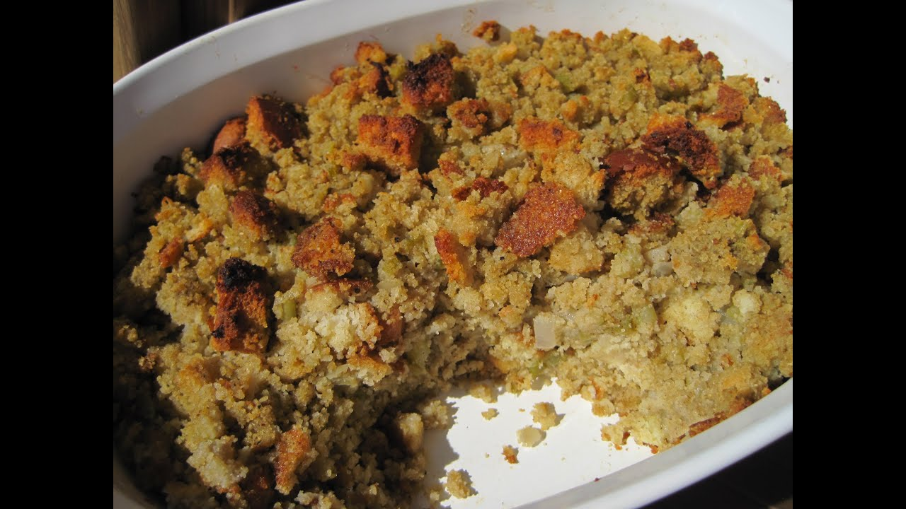 Old fashioned bread stuffing 66