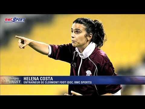 Football / Ligue 2 / Héléna Costa, première femme-coach du foot français - 07/05