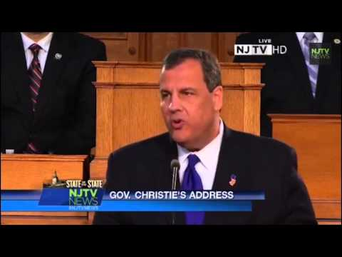 State of the State: Chris Christie highlights New Jersey's progress this past year