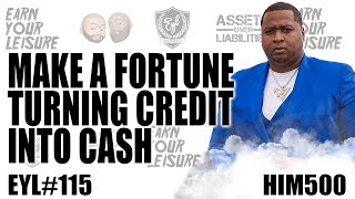 Download lagu MAKE A FORTUNE TURNING CREDIT INTO CASH WITH HIM 500