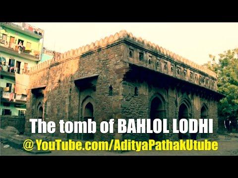 The tomb of Bahlol Lodhi, Chirag Dilli, Delhi