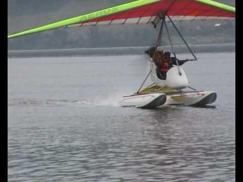 летающая лодка гидродельталет