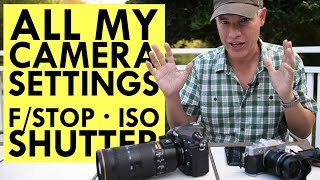 MASTER CAMERA SETTINGS: Aperture, Shutter Speed & ISO