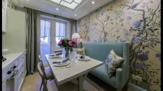 планировка кухни 12 метров с диваном фото