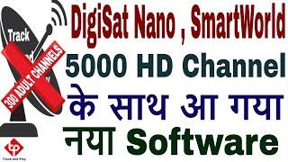 Digisat Nano IPTV box,Smart world iptv box Latest software update,4000 channels free,1000 channels