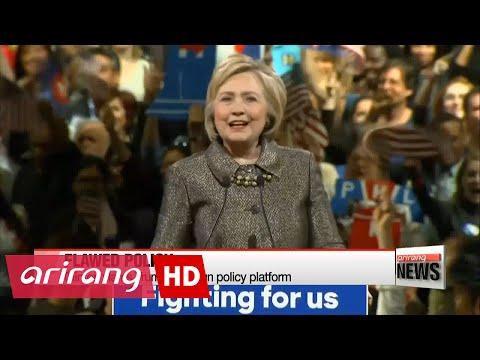 Clinton slams Trump's foreign policy platform