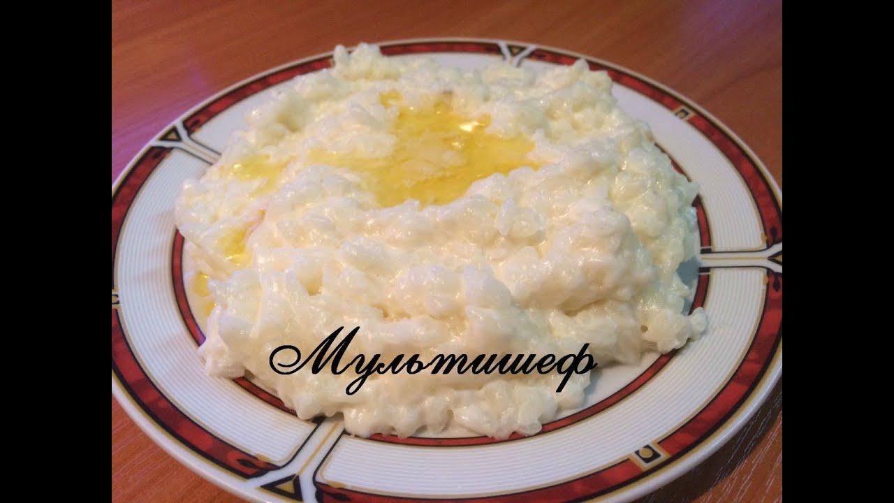 Молочная рисовая каша в мультиварке рецепт с фото пошагово в мультиварке