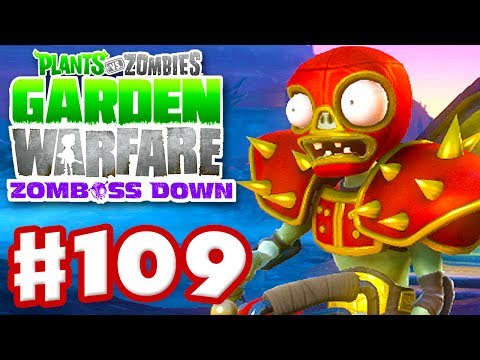 Plants vs. Zombies: Garden Warfare - Gameplay Walkthrough Part 109 - Wrestling Star (Xbox One)