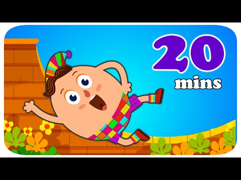 Humpty Dumpty | Nursery Rhyme | Popular Nursery Rhymes Collection For Kids - Captain Discovery video