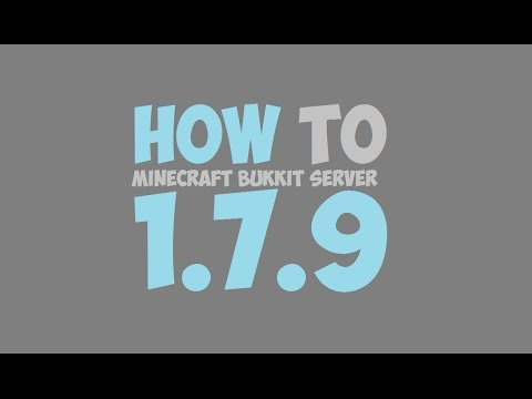 How To Make A Minecraft Bukkit Server 1.7.9