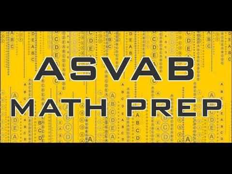 ASVAB Math Help - Free ASVAB Study Tips