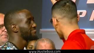 HEATED Crawford vs Benavidez Final Presser: Both Teams Continue to Trash Talk
