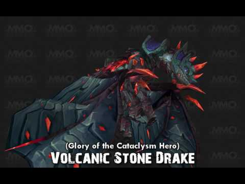 Stone Drake Mounts will be added to the game in Cataclysm, for the moment,