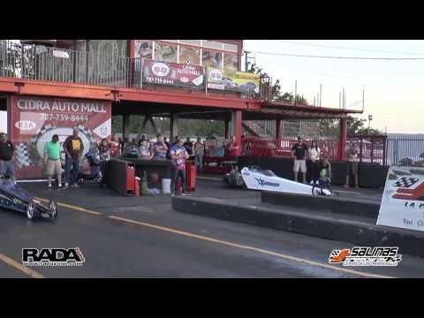 RADAZONE.COM  Pistones vs Rotores 2 Salinas Speedway 21-22 feb 2015 Mini Dragter