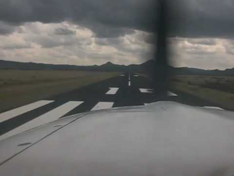 Alpine, TX Airport (E38) Approach and Landing