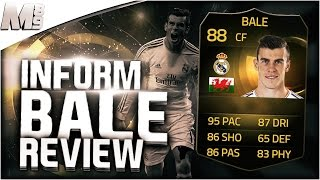FIFA 15 IF BALE REVIEW (88) FIFA 15 Ultimate Team Player Review + In Game Stats