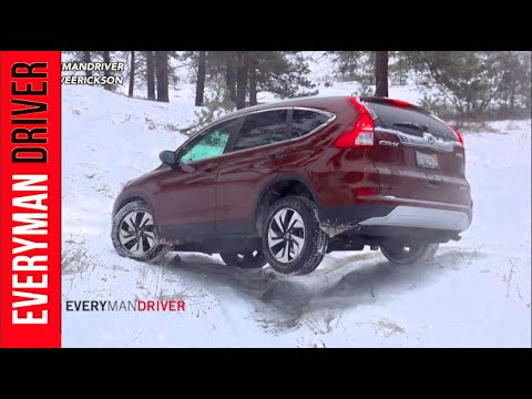 2015 Honda CR-V AWD SNOWY Off-Road Review (PART 1) on Everyman Driver