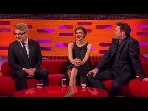 Keira Knightley Banned from Pouting on Set - The Graham Norton Show