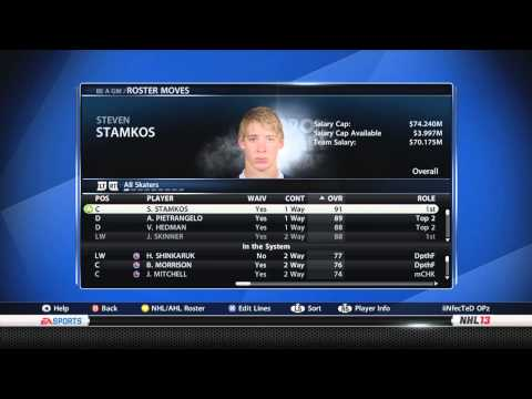 NHL 13 GM Mode: Toronto Maple Leafs Ep 27 Can we win the division?