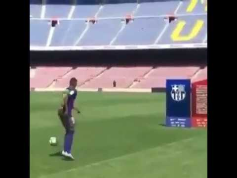 Ousmane Dembele - Fail in Barcelona Presentation | Funny