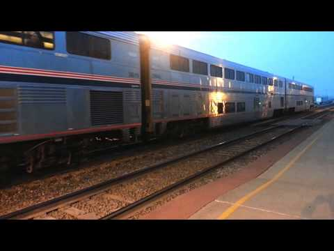 Amtrak CALIFORNIA ZEPHYR at Osceola, Iowa