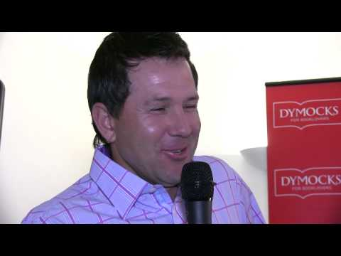 Ricky Ponting Canberra book signing at Dymocks Belconnen and Luncheon 25 Oct 2013