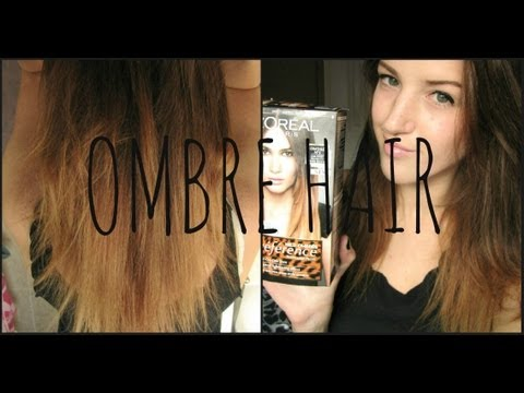 OMBRE HAIR Demo & Review   L'Oreal Preference Wild Ombre