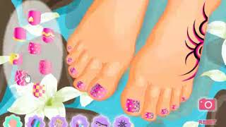 best games My Pretty Pedicure   girls games 2019
