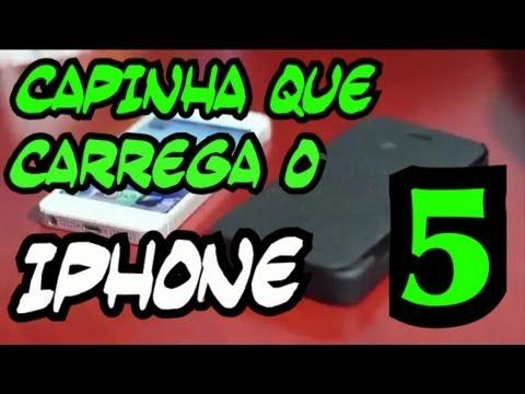 Análise da capa que carrega o iPhone 5 (Novo Modelo)