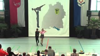 Vanessa Chudziak & Nico Hafeneder - Ländle Cup 2015