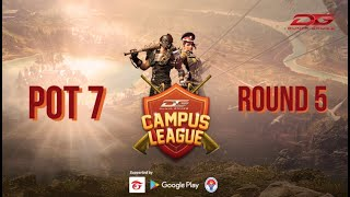 Dunia Games Campus League  2019 POT 7 #ROUND 5  #Free Fire