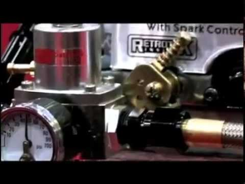 Professional Products Fuel On Demand @ SEMA 2009.flv