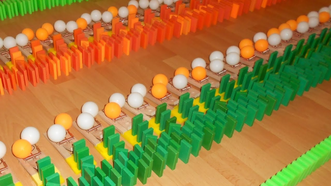 Mousetrap mania 100 mousetraps 200 table tennis balls for 100 table tennis balls