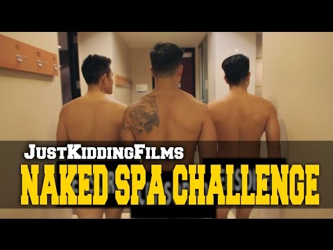 Naked Spa Challenge video