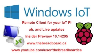 IoT Remote Desktop Client for the Raspberry PI