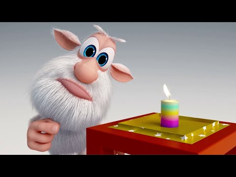 Booba - ep #7 - Relighting Xmas Candle 🕯️ - Funny cartoons for kids - Booba ToonsTV thumbnail