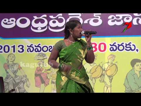 Telugu  Palle Patalu Village Folk Dance Performance video