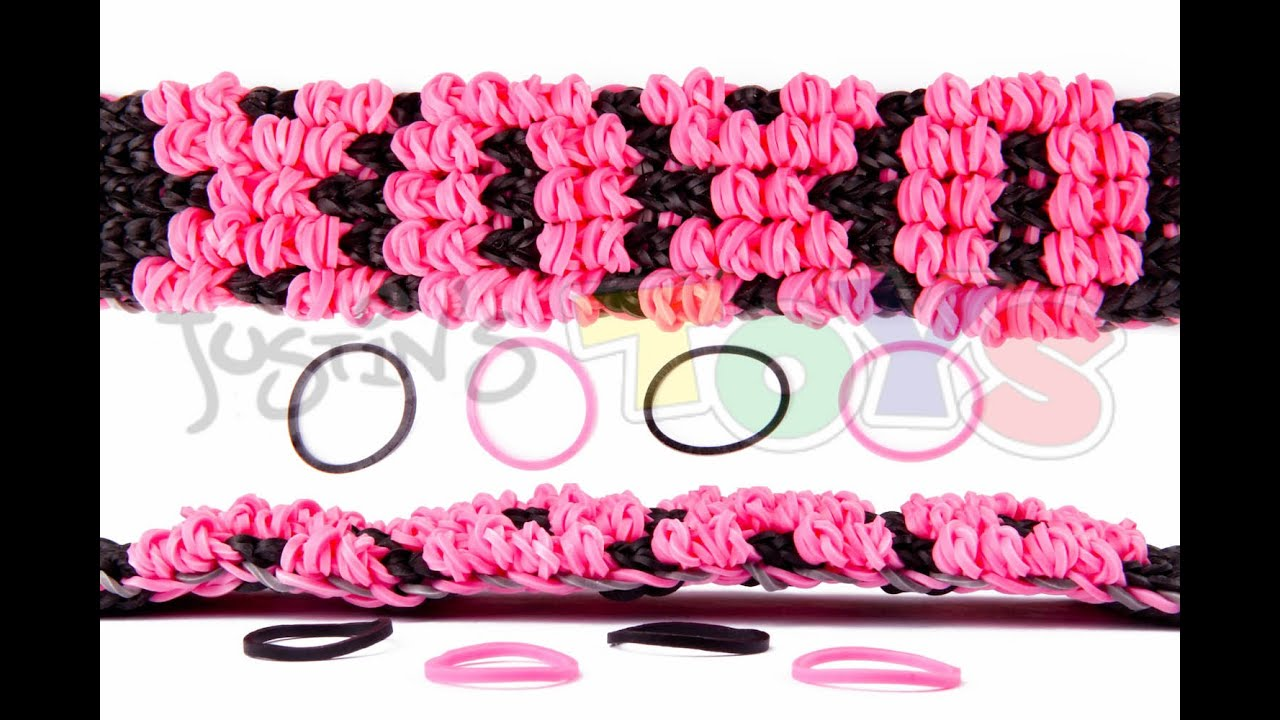 Loom Band Bracelets Names Loom Puffy Name Bracelet