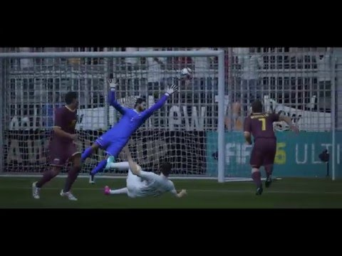 FIFA 16 - 2022 World Cup Group Stage - New Zealand vs Venezuela Highlights (No commentary)