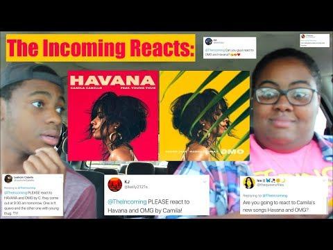 CAMILA CABELLO HAVANA FEAT. YOUNG THUG & OMG FEAT. QUAVO | REACTION!