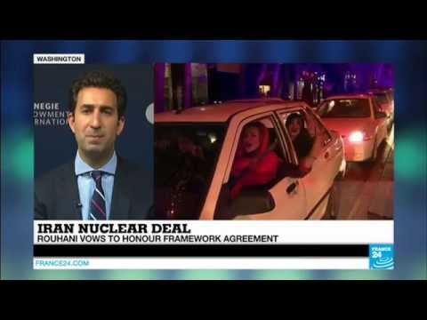 IRAN NUCLEAR TALKS - Settlement will hopefully lead to lifting of sanctions