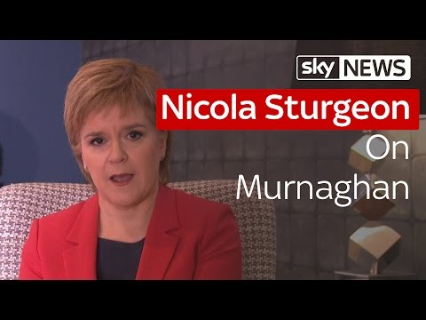 Nicola Sturgeon Talks EU Referendum On Murnaghan