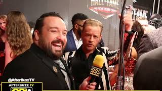 WWE Hall of Fame 2019 Interview with Drake Maverick | Afterbuzz TV Network Wrestling & Sports