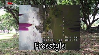 Freestyle flying ARFUN Pro 95mm Mini Brushless FPV Racing Drone Micro