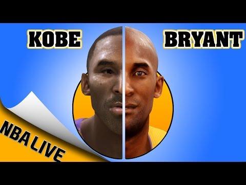 KOBE BRYANT EVOLUTION [NBA LIVE 97 - NBA LIVE 16]