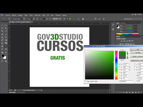 Photoshop CS6 Introductorio 24 Herramienta de Texto