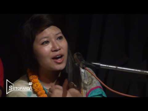 Mahafil with Sangita Thapa at Sarwanam Theatre |setoparda.com
